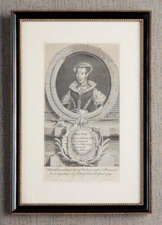 Lady Jane Grey, Queen, (1537–1554)