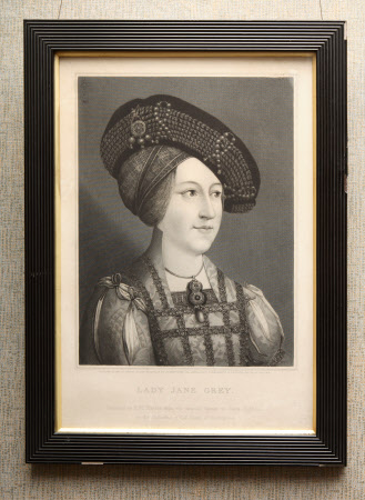 Lady Jane Grey, Queen, (1537–1554) (after Hans Holbein the younger)