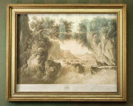 A view of the Loss of the Rhone (Vue de la Perte du Rhone) (after Louis Belanger)