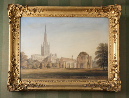 A View of Norwich Cathedral