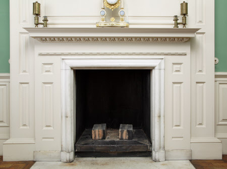 Chimneypiece, White Room, Dunham Massey
