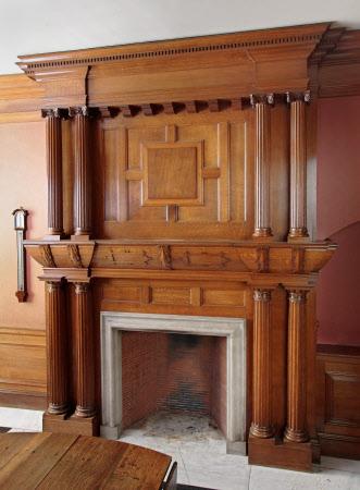 Chimneypiece, Entrance Hall, Dunham Massey
