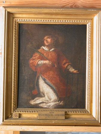Saint Lawrence in Adoration