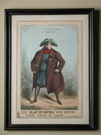 'The Slap up Swell Wot Drives When Hever He Likes': King George IV (1762-1830)