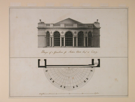 Design for a Greenhouse for Robert Child Esq. at Osterley