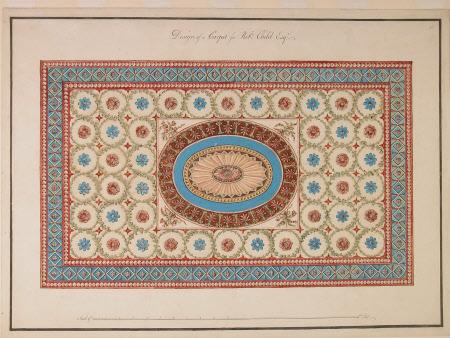 Design of a carpet for Robt. Child Esq.