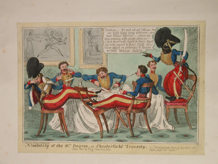Nobility of the 10th degree, or Chesterfield travesty