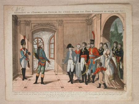 Generosite de L'Empereur des Francais, Roi d'Italie, envers une Dame Egyptienne et Envers son fils