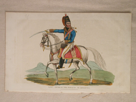 Field Marshall, Sir Henry William Paget, 1st Marquess of Anglesey. KG, GCH, GCB, MP (1768-1854)