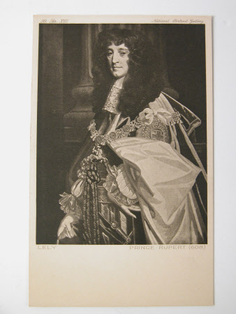 Prince Rupert of the Rhine, Count Palatine, Duke of Cumberland (1619-1682) by Sir Peter Lely