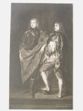 General Lord John Stuart (1621-1644) and his brother Commander Lord Bernard Stuart 'Earl of ...