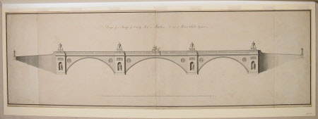Design of a Bridge for Osterley Park in Middlesex. The Seat of Robert Child Esquire.