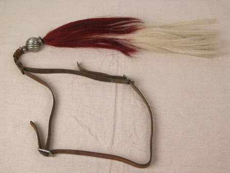 Horse tail decoration