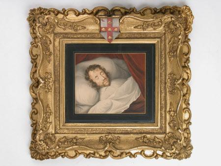 George Villiers, 1st Duke of Buckingham (1592-1628) on his deathbed