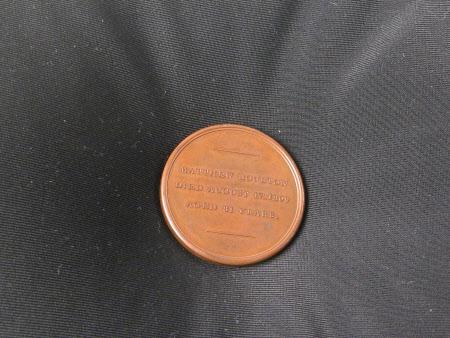 Memorial medal for Matthew Boulton