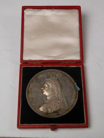 Medal commemorating the Golden Jubilee of Queen Victoria