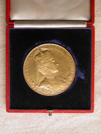 Coronation medal of King Edward VII and Queen Alexandra