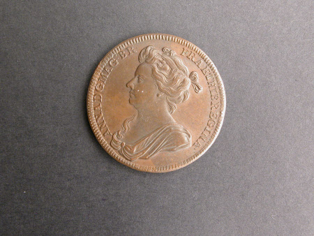 Coronation medal of Queen Anne