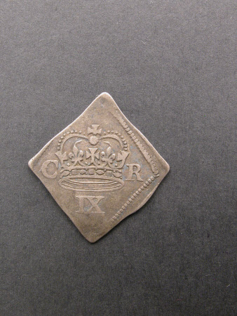 Coin, Shilling, from the reign of King Charles I (1600-1649): 1646
