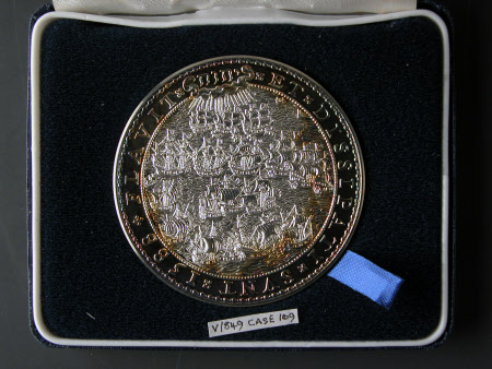 Medal commemorating the 400th Anniversary of the defeat of the Spanish Armada