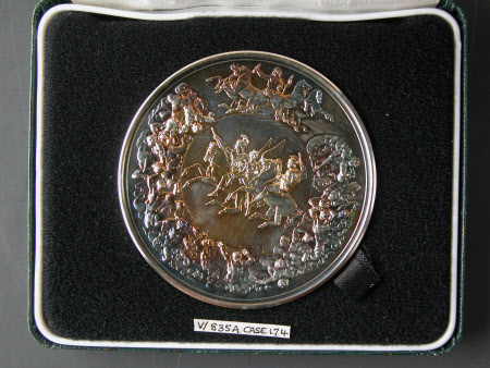 Battle of Waterloo 175th anniversary commemorative medal