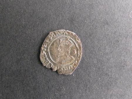 Penny from the reign of King Charles I (1600-1649)