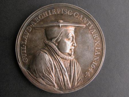 Memorial medal for Archbishop William Laud