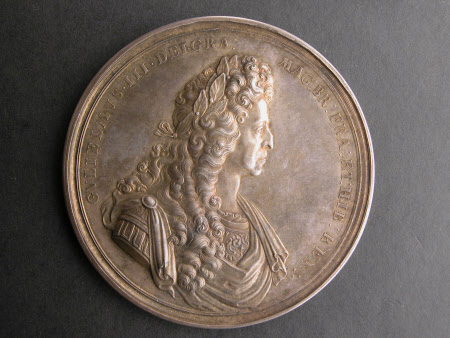 Medal on the state of Britain in 1697