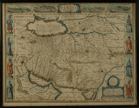 Map of the Kingdom of Persia
