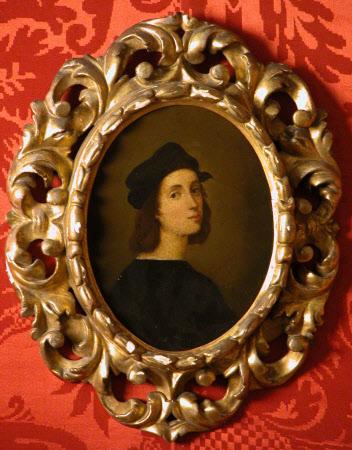 Self-portrait (after Raphael)