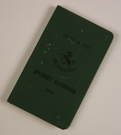 County of Kent Justices' handbook 1961