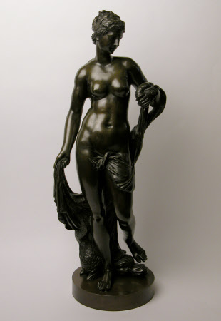 Venus holding a Lobster