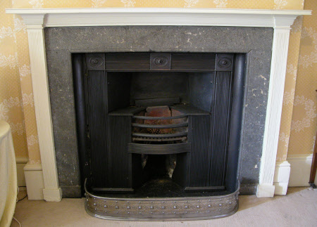 Mantel and surround