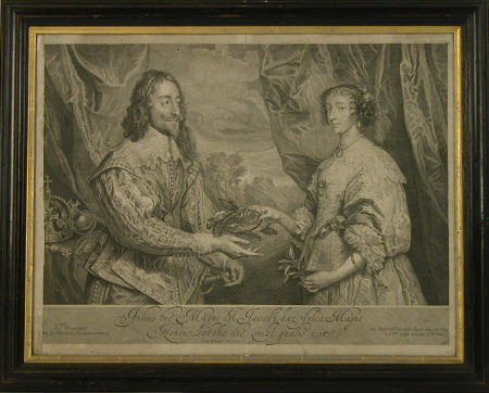 King Charles I (1600-1649) and Queen Henrietta Maria (1609–1669) (after Sir Anthony Van Dyck)