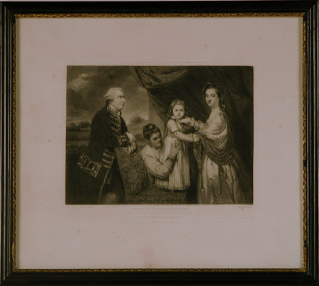 George Clive (1720-1779), Sidney Bolton (1740-1814) his wife, their daughter Louisa Clive ...