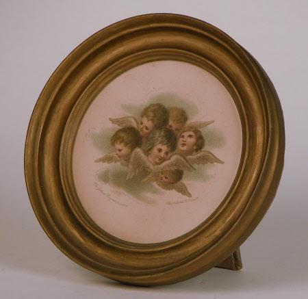 Angels: Frances Isabella Kier Gordon (1782-1831) (after Sir Joshua Reynolds PRA)