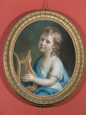 Henry Merrick Hoare (1770-1856) or Sir Henry Hugh Hoare, 3rd Bt (1762-1841) as the Infant Apollo