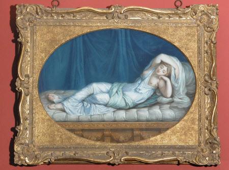 Sleeping Nymph of the Grotto (Ariadne asleep)