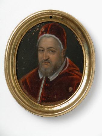Pope Clement VIII (Ippolito Aldobrandini) (1536-1605) or Pope Sixtus V (Felice Peretti) (1520-1590)