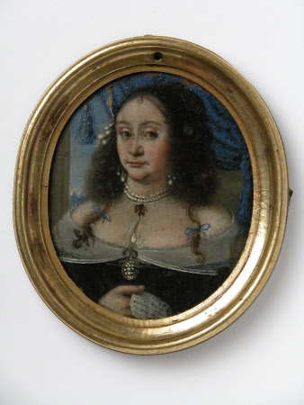 An Unknown Lady Holding a Letter