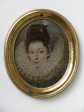An Unknown Young Woman in a Ruff