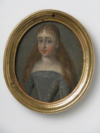 Girl in a Blue-Grey Dress