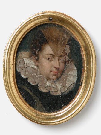 An Unknown Lady with a Widow's Peak