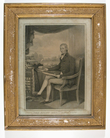 The Right Hon William Pitt (after Henry Edridge, RA (1769–1821)
