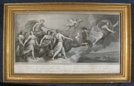 Apollo in his Chariot preceded by Aurora (after Reni)