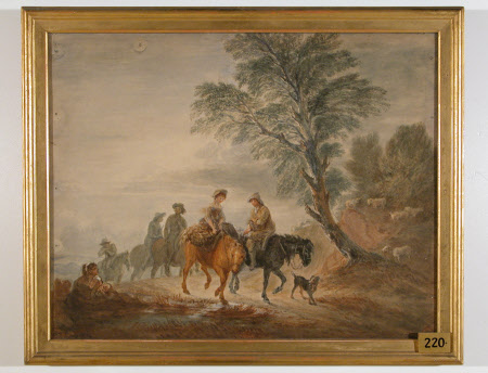 Peasants going to Market (after Thomas Gainsborough)