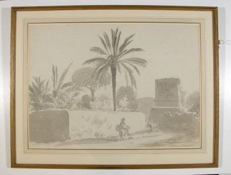 The Roman Gate at Terracina (?)