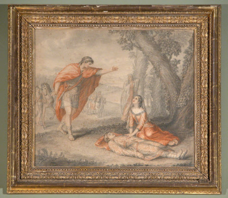 Classical Scene (?Tancred and Erminia)