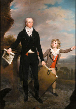 Sir Richard Colt Hoare, 2nd Bt (1758–1838) with his Son Henry Hoare (1784-1836)