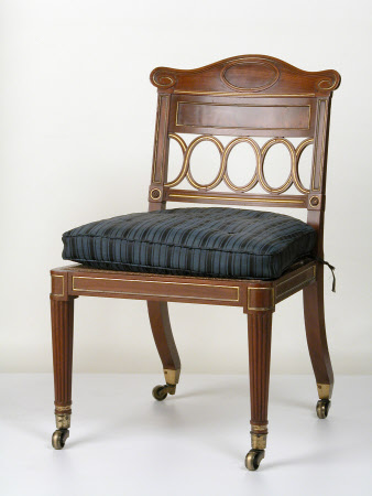 The Stourhead Music Room mahogany side chairs